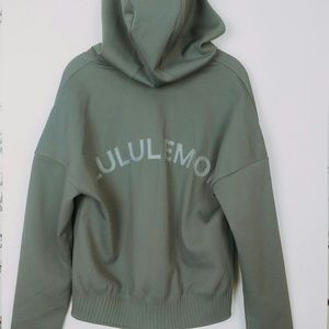 Lululemon | Gray Bomber jacket size 8